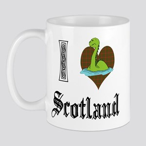 I [HEART] SCOTLAND Mug